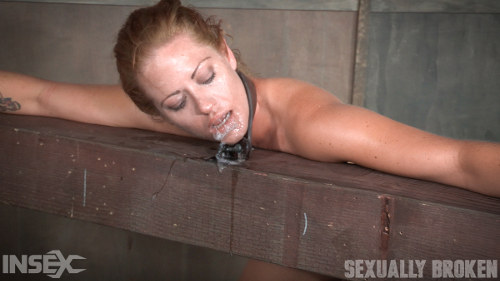 Blonde Slave Cries For Mercy But Gets None